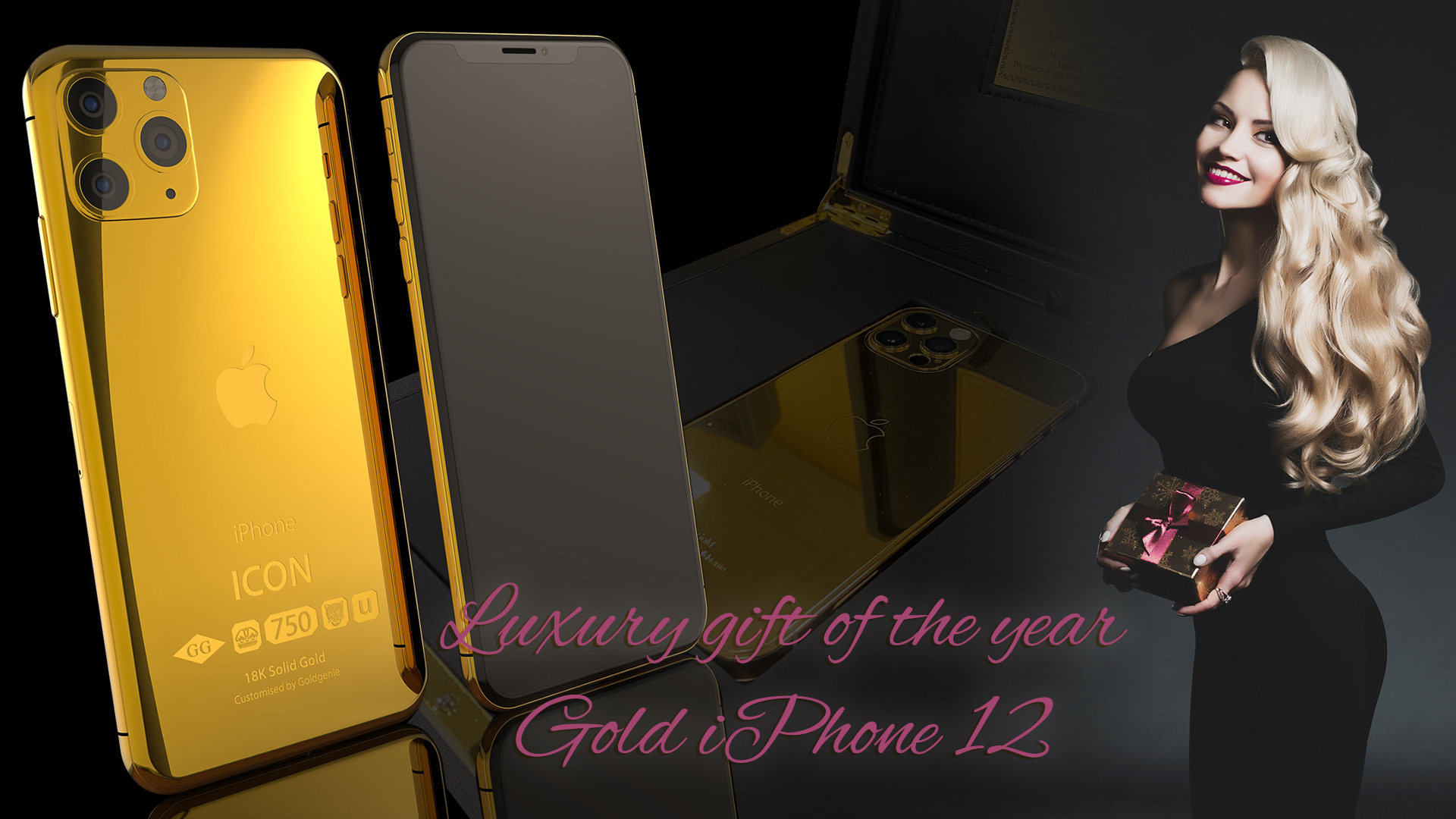 Gold iPhone 12 Pro and Max Range